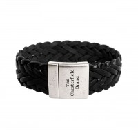 Leather Bracelet Black Avatar Black