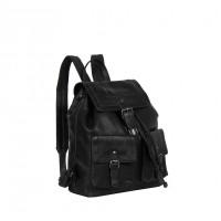 Leather Backpack Black Joey Black