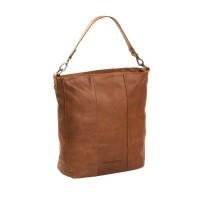 Leather Shoulder Bag Cognac Bruges Cognac