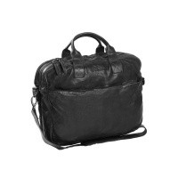 Leather Laptopbag Anthracite Amsterdam Anthracite