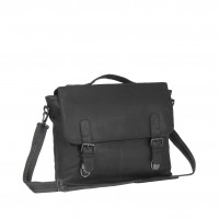 Leather Shoulder Bag Black Jules Black