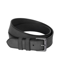 Leather Belt Milan Anthracite Anthracite