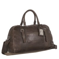 Leahter Travelbag Taupe Avan Taupe
