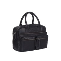 Leather Shoulder Bag Black Ruben Black