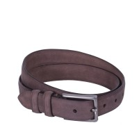 Leather Belt Levi Brown Medium Bruin