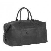 Leather Weekend Bag Black Portsmouth Black