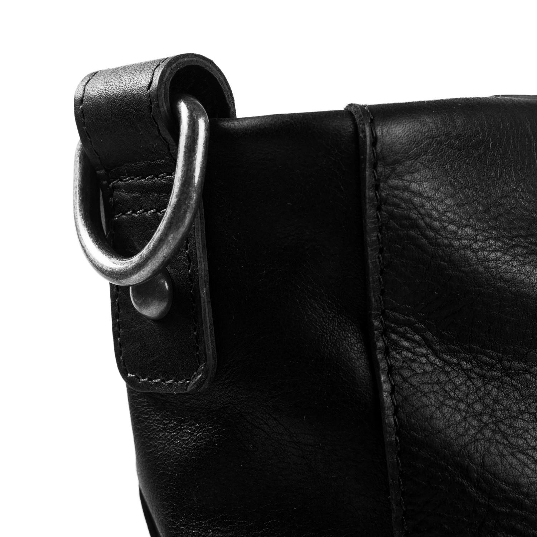 128de82736 Image of Leather Shoulder Bag Black Bruges