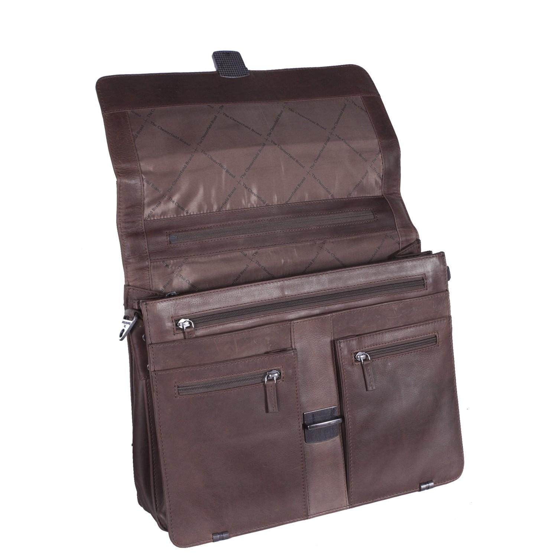 Leather Shoulder bag Brown Joe