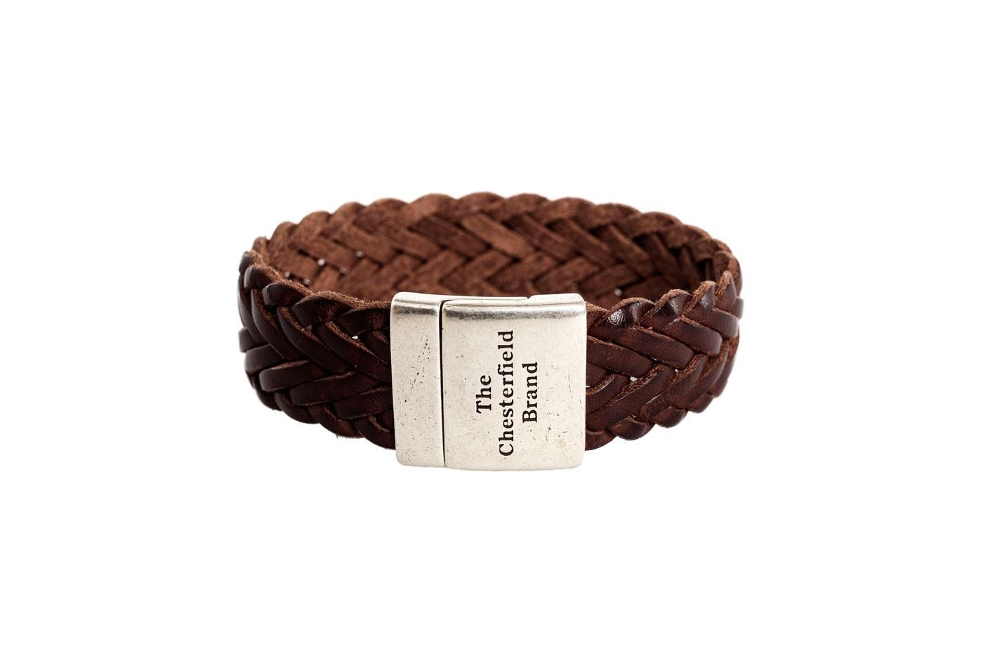 Imagem de Chesterfield Leather Bracelet Brown Avatar