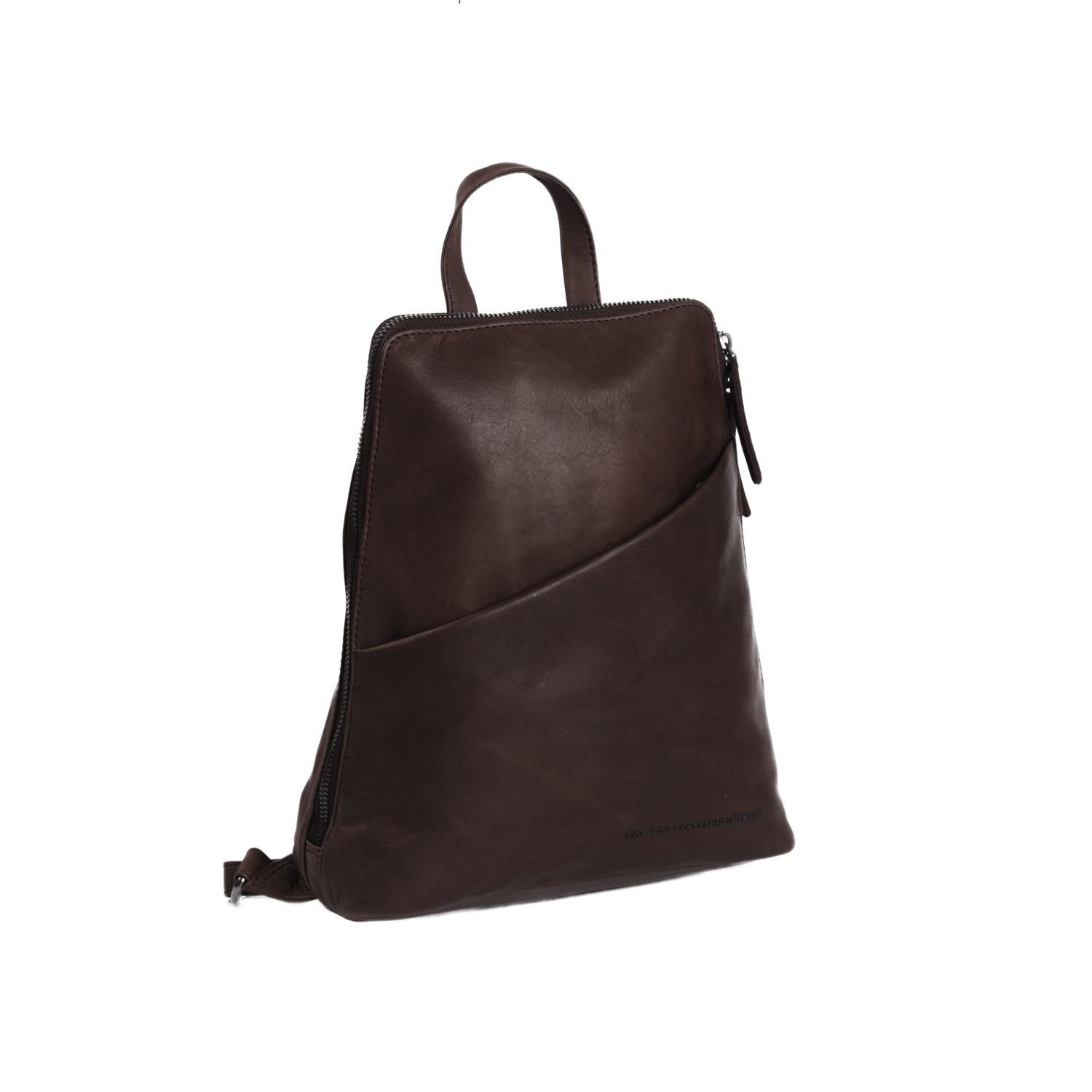 Image de Chesterfield Leather Backpack Brown Clair