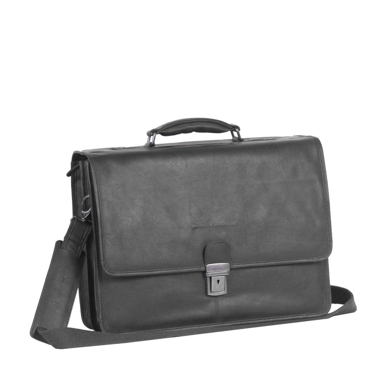 Imagem de Chesterfield Leather Laptopbag Black Shay