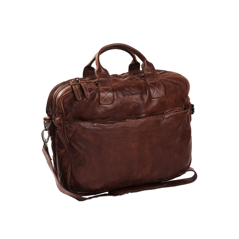 Imagem de Chesterfield Leather Laptop Bag Brown Amsterdam