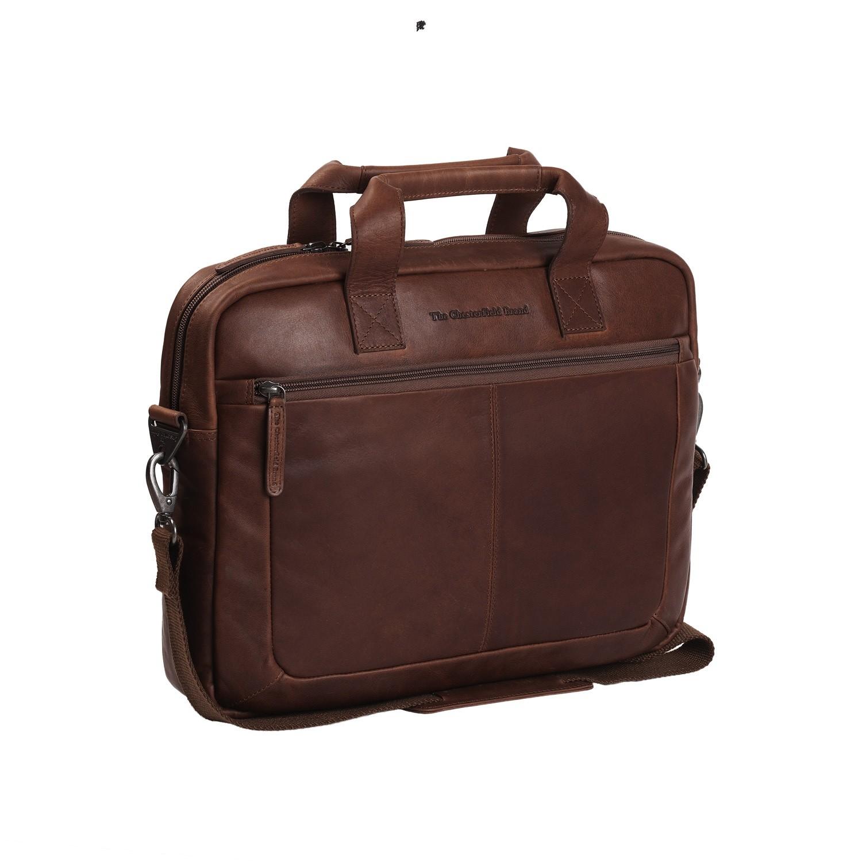 Imagem de Chesterfield Leather Laptop Bag Brown Calvi