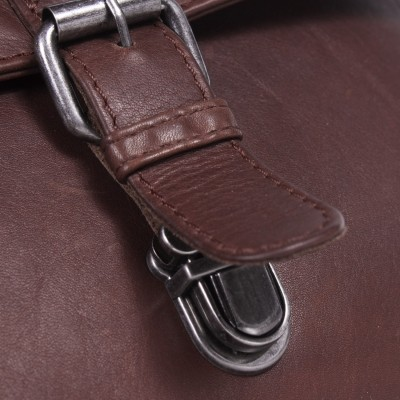 Photo of Leather Backpack Brown Isa