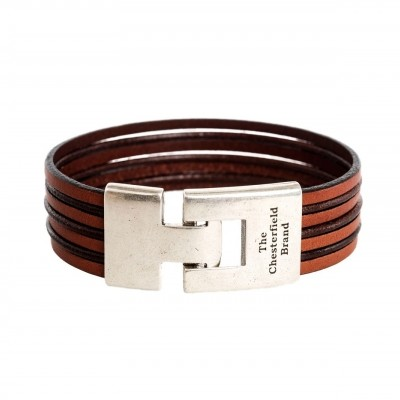 Photo of Leather Bracelet Cognac Elvis