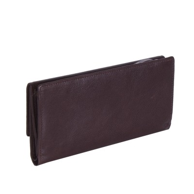 Photo of Leather Wallet Brown Thea