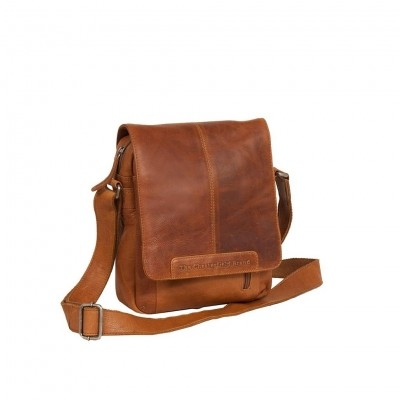 Leather Shoulder Bag Cognac Remy