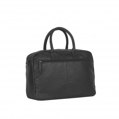 Photo of Leather Shoulder Bag Black Ruben