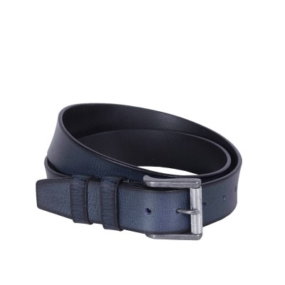 Photo of Leather Belt Aayden Navy