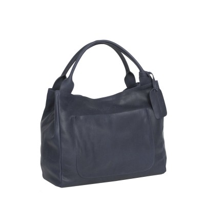 Photo of Leather Handbag Navy Cardiff