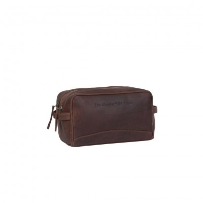 Leather Toiletry Bag Brown Stacey