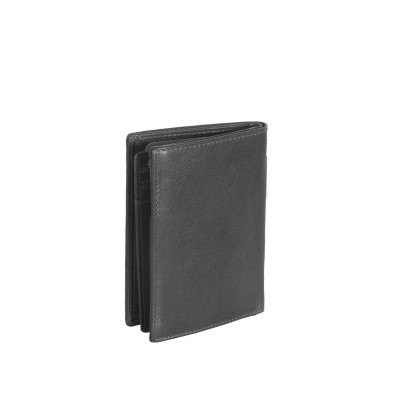 Photo of Leather Wallet Black Hank