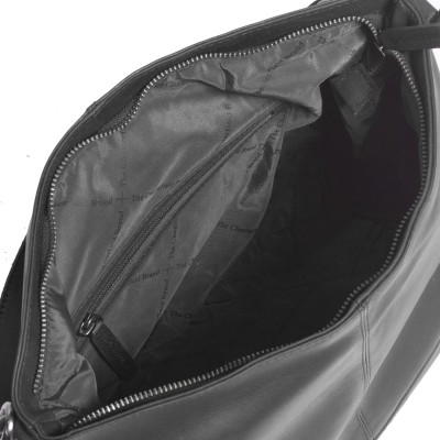 Photo of Leather Shoulder Bag Black Amelia