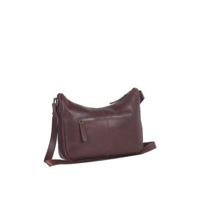 Photo of Leather Shoulder Bag Brown Aubrey