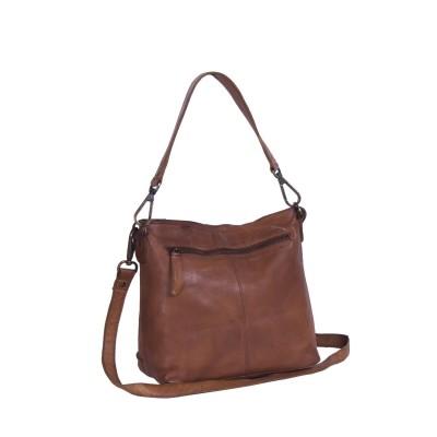 Photo of Leather Shoulder Bag Cognac Alys