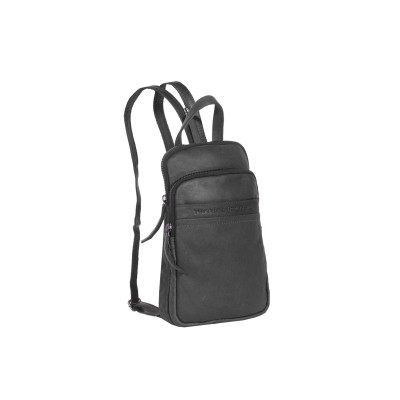 Leather Backpack Black Buddy