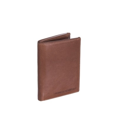 Leather Wallet Cognac Hank