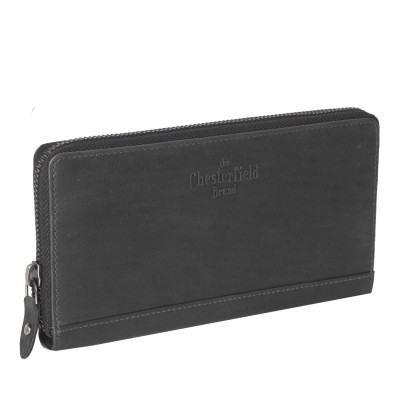 Leather Wallet Black Nova