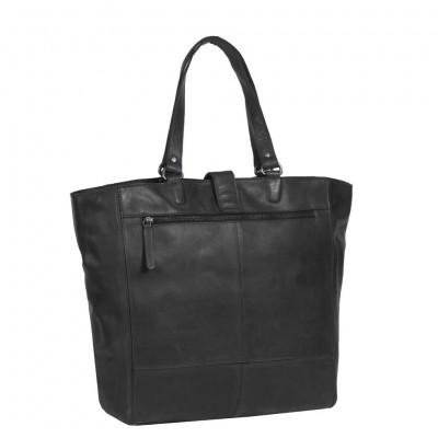 Photo of Leather Shopper Black Jaimy