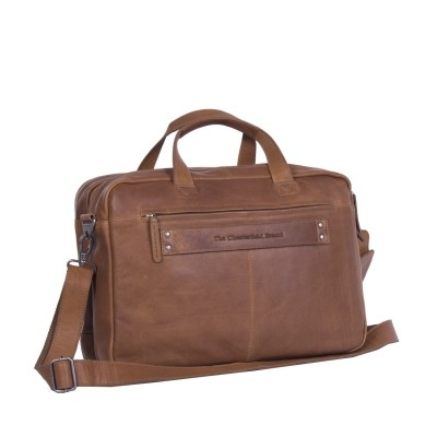 Photo of Leather Laptop Bag Cognac Ryan
