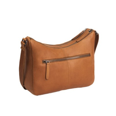 Photo of Leather Shoulder Bag Cognac Ellie