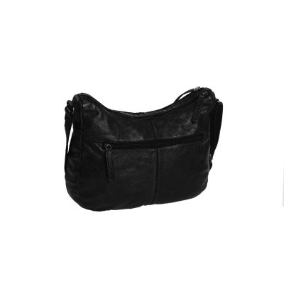 Photo of Leather Shoulder Bag Black Fran