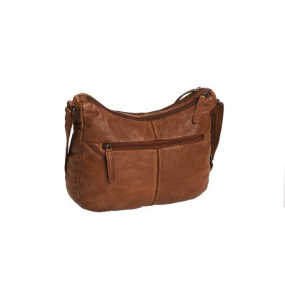 Photo of Leather Shoulder Bag Cognac Fran