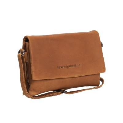 Photo of Leather Shoulder Bag Cognac Elsa