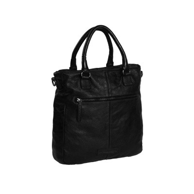 Photo of Leather Shopper Black Willow
