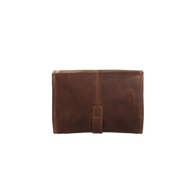 Photo of Leather Toiletry Bag Brown Ambon