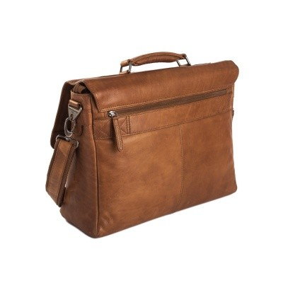 Photo of Leather Laptop Bag Cognac Belfast