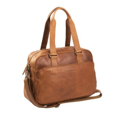 Photo of Leather Shoulder Bag Cognac Adelaide