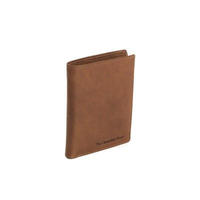 Leather Wallet Cognac Tymon