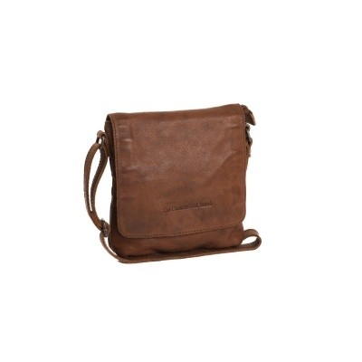 Photo of Leather Shoulder Bag Cognac Clermont