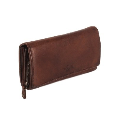 Photo of Leather Wallet Black Label Cognac Andria