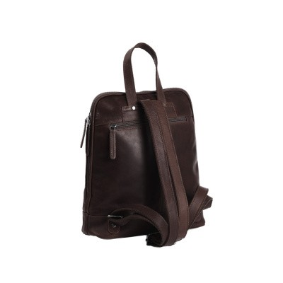 Photo of Leather Backpack Brown Naomi