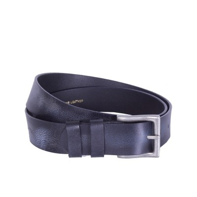 Photo of Leather Belt Antonio Navy