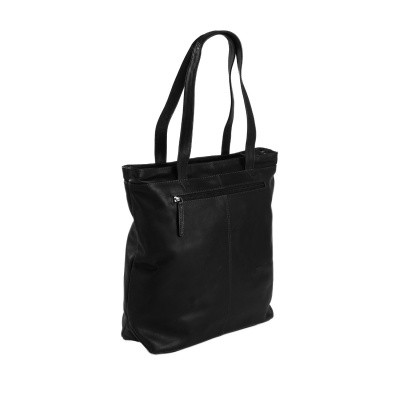 Photo of Leather Shopper Black Bonn