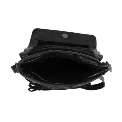 Photo of Leather Shoulder Bag Anthracite Calais