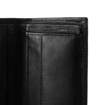 Photo of Leather Wallet Black Tymon